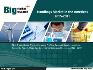 Handbags Market in the Americas 2019