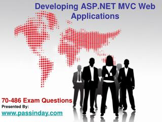 How To Pass Developing ASP .NET MVC Web Applications 70-486