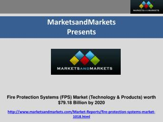 Fire Protection Systems Market