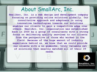 SmallArc, Inc. - IT Consulting Services Company