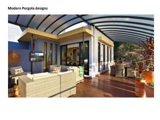 Modern Pergola Designs For Your Dream Home