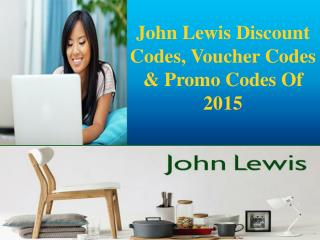 John Lewis Discount Codes, Voucher Codes & Promo Codes Of 20