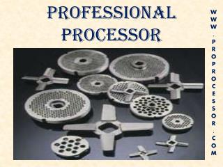 Kitchen Equipment Supplier USA- Proprocessor