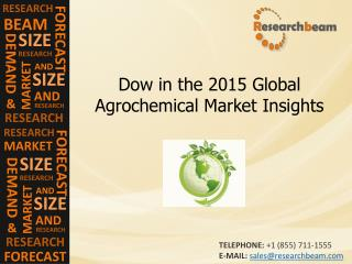 Dow in the 2015 Global Agrochemical Market Forecast