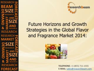 Global Flavor and Fragrance Market 2014