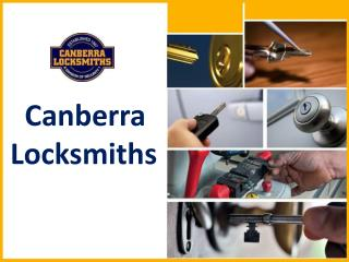 Canberra Locksmiths