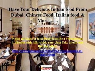 Restaurants Dubai
