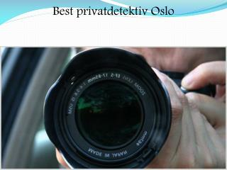 Best privatdetektiv Oslo