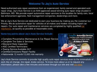 Jays Auto