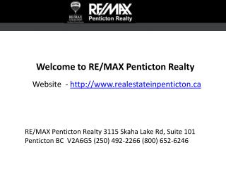 Real Estate Penticton