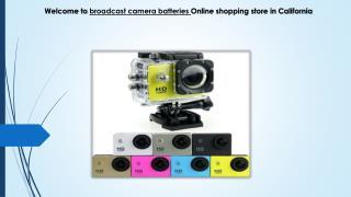 camcorder batteries