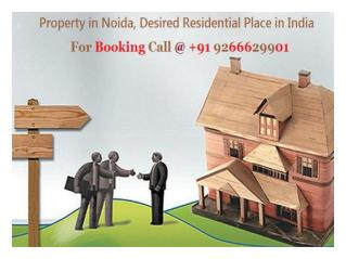 Property in Noida For Booking Call @ 9266629901