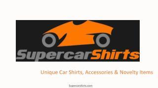 Lamborghini and Ferrari car t shirts