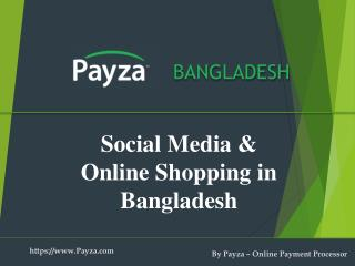The influence of Social Media on online shopping