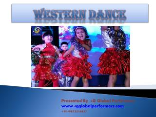 PPT on Western Dance