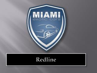 Exotic car rentals in Miami