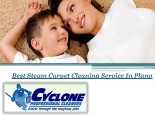 Best Steam Carpet Cleaning Service In Plano