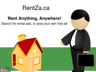 Rentza - Rent anything, Anywhere!