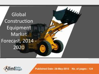 Global Construction Equipment Market - Industry Analysis,