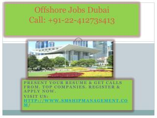offshore jobs dubai,marine recruitment company in mumbai