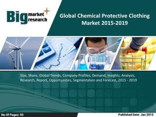 Global Chemical Protective Clothing Market 2019