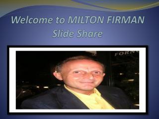 Milton Firman