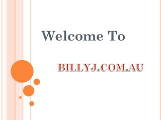 Billy J Boutique – Online Women's Clothing Store in Australi