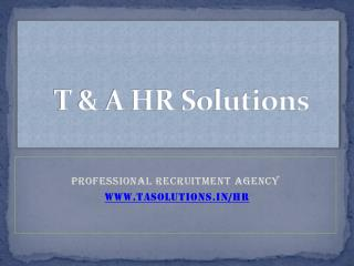 Placement Consultants in Hyderabad