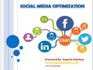 PPT on Social Media Optimization