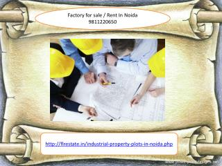 factory for sale in noida 9811220650, factory for sale noida