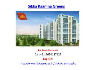 Sikka Kaamna Greens Housing Project-Sector 143 Noida