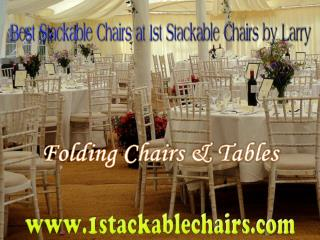 Best Stackable Chairs at 1st Stackable Chairs by Larry