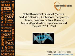 Global Bioinformatics Market Company Profiles, 2013-2020