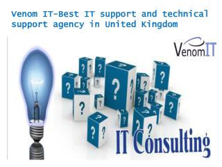 Venom IT-Best IT support and technical support agency in Uni