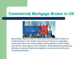 Get Effective Commercial Mortgage with Empire Commercial Fin