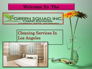 Commercial Cleaning in Los Angeles-Green Squad Inc