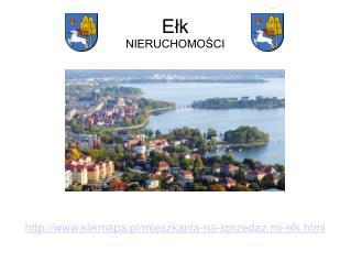 Ceny mieszkań w Ełku