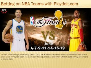 Betting on NBA Teams with Playdoit.com