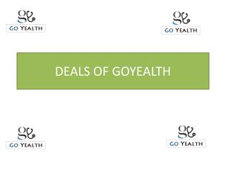 Deals Offers & Coupons - GoYealth