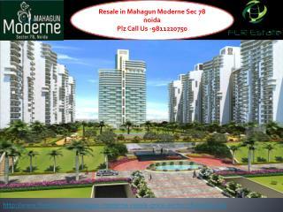 Mahagun Moderne Resale 9811220750 Price Sector 78 Noida, Lay