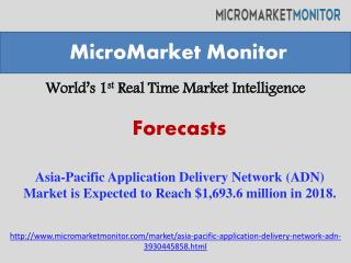 Asia-Pacific Application Delivery Network (ADN) Market