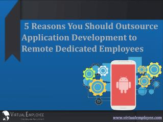 5 Reasons You Should Outsource Application Development to Re