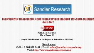 Electronic Health Records System Market in Latin America 201