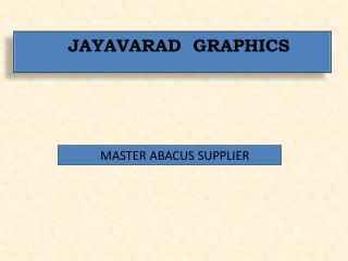 MASTER ABACUS SUPPLIER