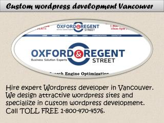 Wordpress Developer Vancouver