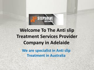 Best Anti slip Treatment