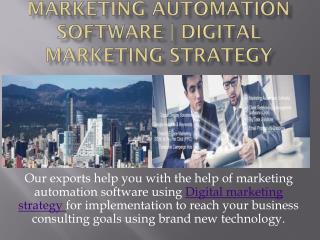 Marketing Strategies, Customer Relationship Management