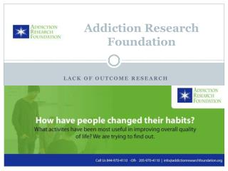 Survey about Drug Addiction Change