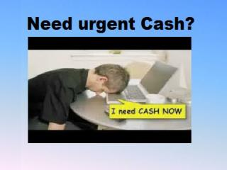 Instant Cash Loans- Easy Option Sudden Financial Emergency