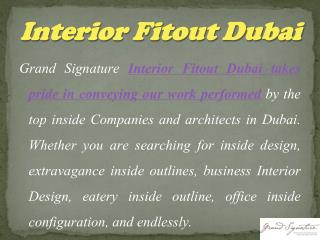 Magnificence Interior Decoration and Construction Designers